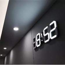 3D LED wall clock modern digital table table alarm clock night light home living
