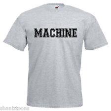 MACCHINA DA PALESTRA Bodybuilder slogan Adulti Da Uomo T Shirt 12 Colori Taglia S - 3XL