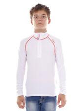 CMP Sweatshirt Function Top White Collar Stretch Softech Light