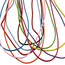 Corde coton multicolore fermeture en métal réglable