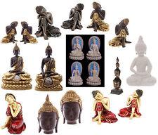 D33 - Buddhism Thai Buddha Figurine Resting Head Statues -  S, M & L Ornaments