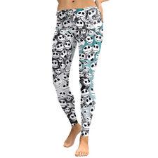 The Nightmare Before Christmas Sally Jack Yoga Leggings Pants Halloween Cosplay