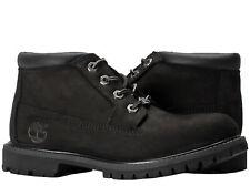 Timberland Nellie Chukka Black Nubuck Women's Boots 23398
