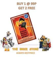 LEGO - #030 FLAMENCO DANCER - CREATE THE WORLD TRADING CARD + FREE GIFT - NEW