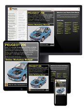 Peugeot 206 Petrol & Diesel (2002-2009) 51 to 59 Haynes Online Manual
