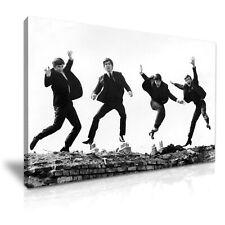The Beatles Rock Band Jumping Canvas Print Wall Art ~ 5 Size