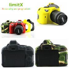 Silicone Armor Skin Case Cover Bag Protector for Nikon D5300 DSLR camera