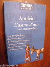 Lucio Apuleio L'asino d'oro o le metamorfosi Bur 2000 Superbur 383 pagine VENDO