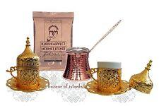 Café turco conjunto de tazas Cezve Café Porcelana Latón-M04 Muchos Colores