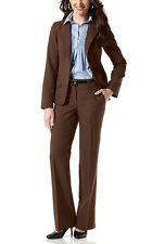 2 partes Vivien Caron Traje chaqueta y pantalón Talla 34-42 Mujer Traje Marrón