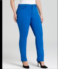 NYDJ Not Your Daughters Jeans Jade Princess Blue leggings jeggings pants sz 24W