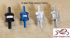 6mm1/10cm 1 anti-retour clapet anti retour huile essence diesal Essence anodisé