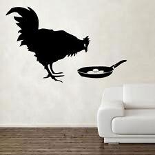 Banksy Chicken & Egg Decal Vinyl Wall Sticker Art Graffitti Street