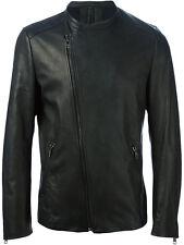 US Men Leather Jacket Hommes veste cuir Herren Lederjacke chaqueta de cuero R21a