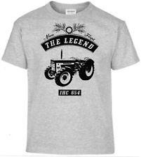 T-Shirt,IHC 654,Traktor,Schlepper,Bulldog,Oldtimer