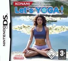 Let's Yoga - Nintendo DS - nur Modul mit Anleitung
