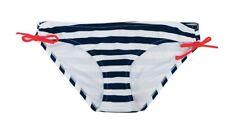 Pink Envelope Maternity Side Tie Bikini Swim Bottoms Swimwear Women's Large