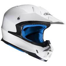 HJC FX-CROSS METALLIC Motorrad Off-Road / Crosshelm - weiß
