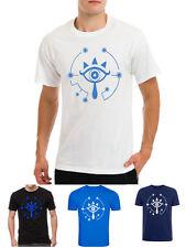 Legend of Zelda breath of the wild symbol logo game gamer eye t-shirt