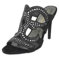 Ladies Anne Michelle High Heel Strappy Sandals