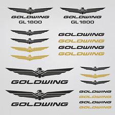 HONDA Goldwing adesivi 13x GL sticker 1800 decalcomania carro armato casco
