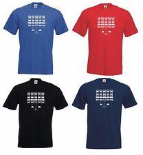 Los invasores Bicicleta Ciclismo Bici Bicicleta Ciclismo Carretera MTB Camiseta de Jersey de espacio Retro Nuevo
