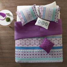 Beautiful Purple Teal Aqua Blue Southwest Global Bohemian Tropical Comforter Set