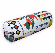 LL408g Green Blue White Black Mustard Red Animal Owl Yoga Bolster Cushion Cover