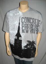 ENYCE Sean Combs Heather Gray  Urbanwear T Shirt Hip Hop
