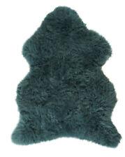 Item 3 Large Genuine Real Sheepskin Rug Hide Pelt Blue Teal Super Soft Luxury Uk Made