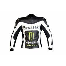 KAWASAKI RACING MOTORBIKE LEATHER JACKET MENS MOTO GP MOTORCYCLE LEATHER JACKETS