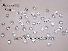 4mm Edible Diamond Studs Wedding Cake Sugar Decoration 65pcs 8 Color Choices