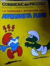 Corriere dei Piccoli 24 1971 Avventura apprendist PUFFO