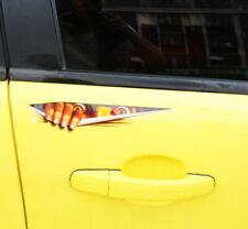 3D Skeleton Car Hood Decal Rear Vinyl Side Door Sticker For Car Truck Window