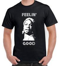 Nina Simone feelin 'good tee-shirt homme-Jazz Soul Blues Legend