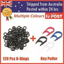 120 Mechanical Keyboard Keycap Rubber O Ring Switch Dampeners + Key Cap Puller