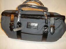 KENNETH COLE TRAVEL BAG /  SATCHEL BAG / FLIGHT BAG /OVER NIGHT BAG /  BLACK NEW