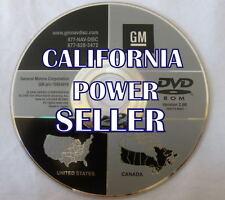 Only 2007 2008 2009 GMC Sierra Denali SLT SLE Navigation OEM DVD Map U.S Canada