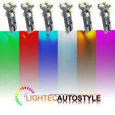 2x ERROR FREE CANBUS 8 SMD LED XENON HID W5W T10 501 CAR SIDE LIGHT BULBS 6000K