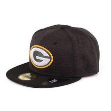 New Era 59FIFTY NFL GREEN BAY PACKERS CAPPELLO SU MISURA NERO VERDE 93952