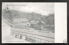 Tea Factory Gunung Kantjana Java Indonesia stamp 1906