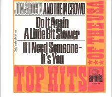 JON & ROBIN and the IN CROWD - Do it again a little bit slower