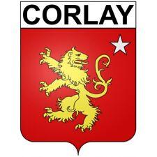 Corlay 22 ville Stickers blason autocollant adhésif