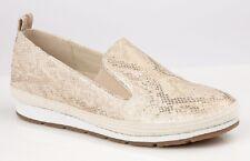 Cipriata L087 Luca Mujer Doble Costura Metálico Zapatos de Diario