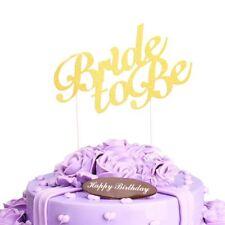 Bride To Be Glitter Cake Topper Hen party Bridal Shower Cake Hen do Wedding