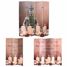 LED-Paravent Buddha, Trennwand Raumteiler, Timer netzbetrieben