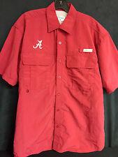 University of Alabama Men's Crimson Fishing Shirt