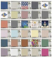 Stars Shower Curtain Fabric Bathroom Decor Set with Hooks 4 Sizes
