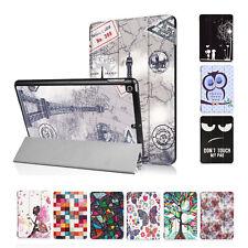 Slim Cover für Apple iPad 2017 9,7 Zoll Schutz Hülle Tasche Etui Flip Bag Motiv