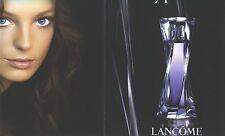 PUBLICITE ADVERTISING   2006   LANCOME  parfum HYPNOSE (2 pages)